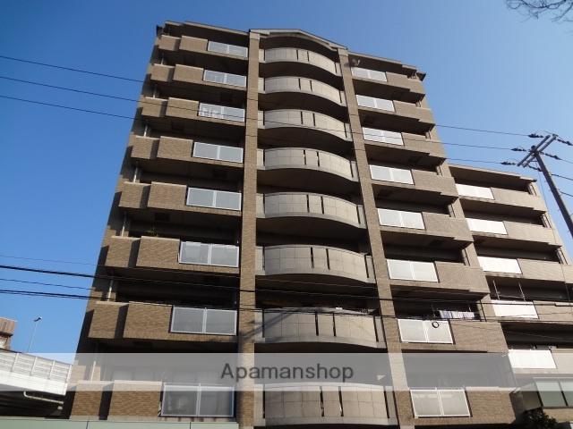 大阪府大阪市東住吉区、南田辺駅徒歩8分の築18年 9階建の賃貸マンション