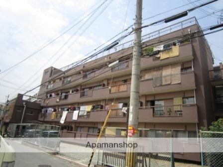 大阪府大阪市住之江区、住吉大社駅徒歩4分の築46年 4階建の賃貸マンション
