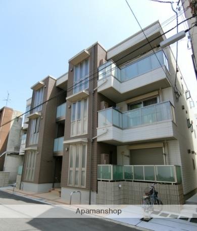 大阪府大阪市住之江区、粉浜駅徒歩11分の新築 3階建の賃貸アパート
