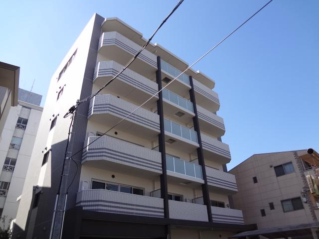大阪府大阪市東住吉区、南田辺駅徒歩8分の築4年 6階建の賃貸マンション