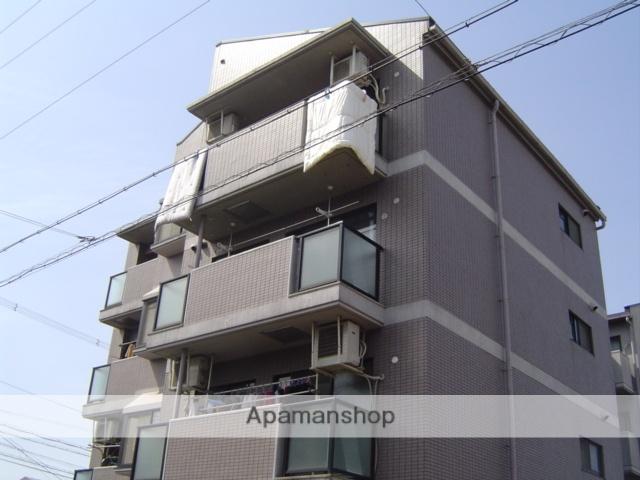 大阪府大阪市東住吉区、針中野駅徒歩30分の築22年 4階建の賃貸マンション