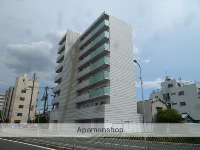 大阪府大阪市東住吉区、南田辺駅徒歩8分の新築 8階建の賃貸マンション