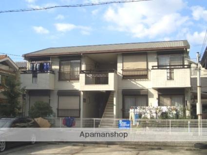 大阪府大阪市住之江区、七道駅徒歩20分の築24年 2階建の賃貸アパート
