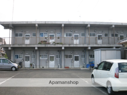 大阪府阪南市、尾崎駅徒歩23分の築43年 2階建の賃貸アパート