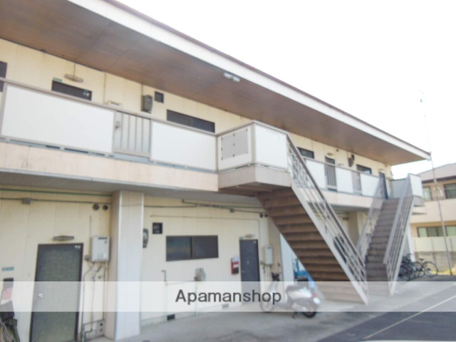 大阪府阪南市、和泉砂川駅徒歩45分の築31年 2階建の賃貸アパート