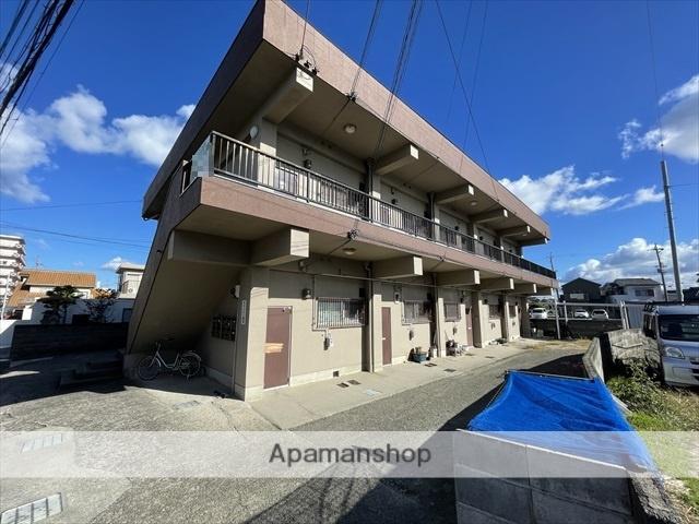 大阪府阪南市、尾崎駅徒歩8分の築39年 2階建の賃貸アパート