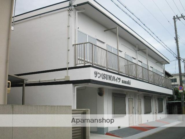 大阪府阪南市、箱作駅徒歩1分の築43年 2階建の賃貸アパート
