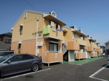 大阪府岸和田市、下松駅徒歩24分の築26年 2階建の賃貸アパート