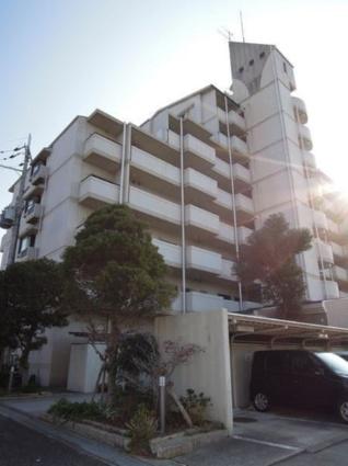 大阪府岸和田市、下松駅徒歩15分の築23年 8階建の賃貸マンション