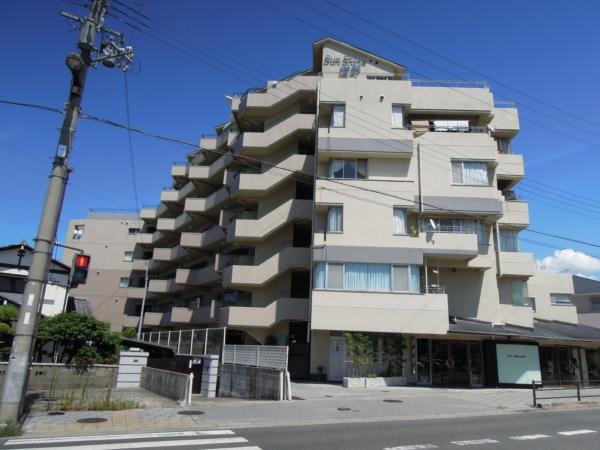大阪府岸和田市、久米田駅徒歩20分の築29年 7階建の賃貸マンション