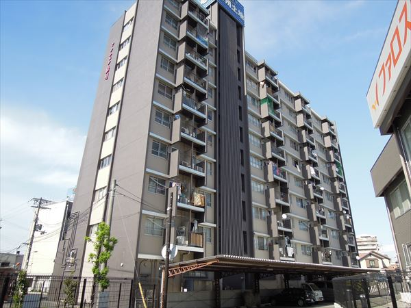 大阪府岸和田市、下松駅徒歩19分の築44年 10階建の賃貸マンション