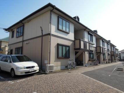 大阪府貝塚市、東岸和田駅徒歩25分の築23年 2階建の賃貸アパート