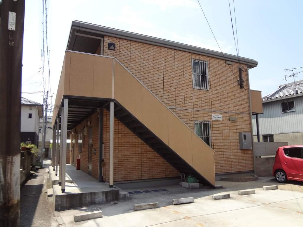大阪府貝塚市、貝塚駅徒歩14分の築11年 2階建の賃貸アパート