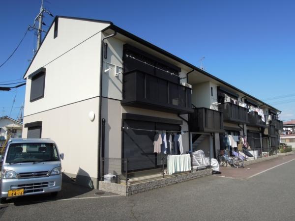 大阪府貝塚市、貝塚市役所前駅徒歩9分の築20年 2階建の賃貸アパート