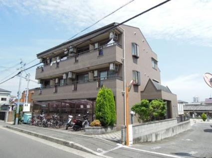 大阪府貝塚市、貝塚駅徒歩24分の築22年 3階建の賃貸マンション