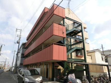 大阪府貝塚市、東貝塚駅徒歩4分の築27年 4階建の賃貸マンション