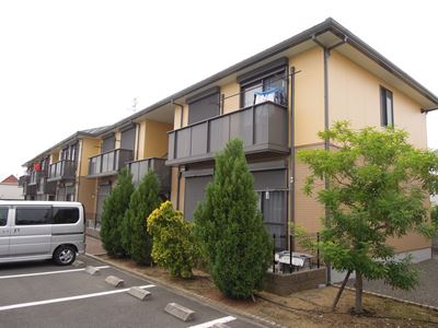 大阪府貝塚市、貝塚駅徒歩28分の築13年 2階建の賃貸アパート