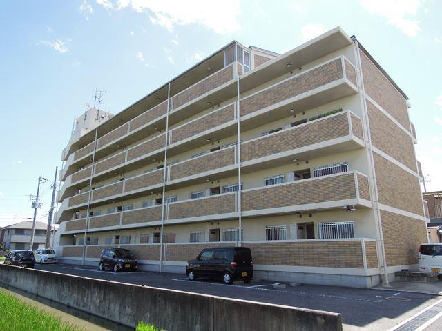 大阪府岸和田市、東岸和田駅徒歩14分の築22年 5階建の賃貸マンション