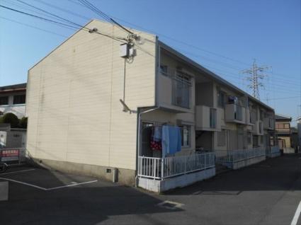 大阪府貝塚市、貝塚市役所前駅徒歩8分の築29年 2階建の賃貸アパート