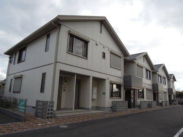 大阪府貝塚市、東岸和田駅徒歩12分の築9年 2階建の賃貸アパート
