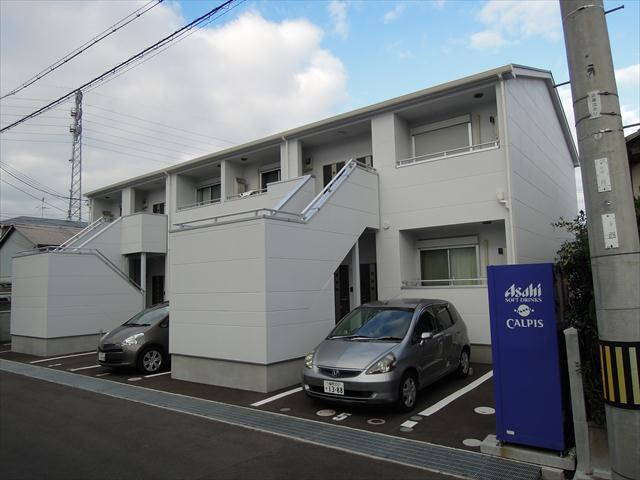 大阪府貝塚市、東貝塚駅徒歩4分の築1年 2階建の賃貸アパート