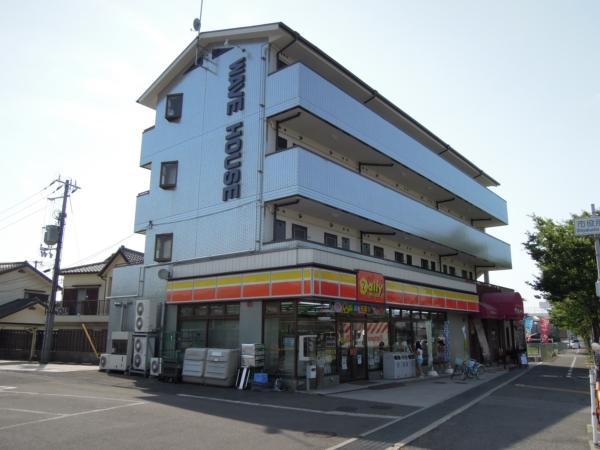大阪府貝塚市、貝塚駅徒歩7分の築23年 4階建の賃貸マンション