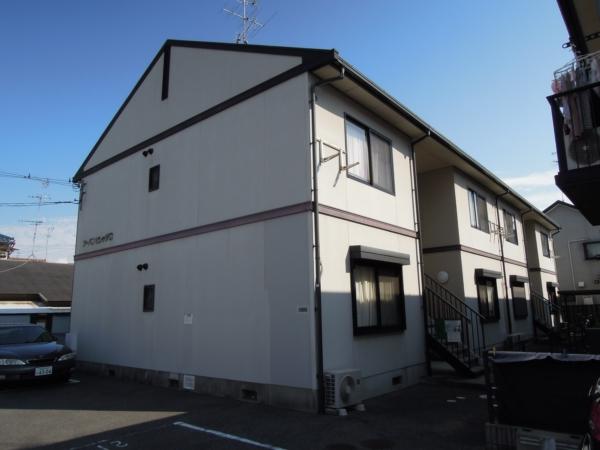 大阪府岸和田市、久米田駅徒歩20分の築20年 2階建の賃貸アパート