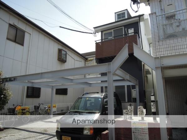 大阪府岸和田市、和泉大宮駅徒歩15分の築28年 2階建の賃貸アパート