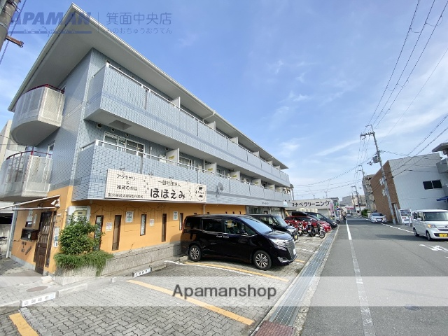 大阪府箕面市、桜井駅徒歩17分の築25年 3階建の賃貸マンション