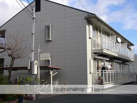 大阪府箕面市、桜井駅徒歩20分の築26年 2階建の賃貸アパート