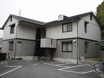 大阪府箕面市、石橋駅徒歩25分の築19年 2階建の賃貸アパート