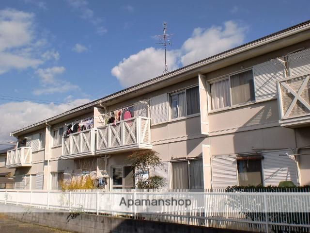 大阪府堺市東区、白鷺駅徒歩15分の築27年 2階建の賃貸アパート