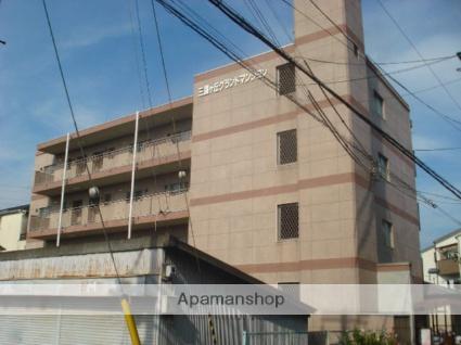 大阪府堺市北区、百舌鳥駅徒歩13分の築42年 4階建の賃貸マンション