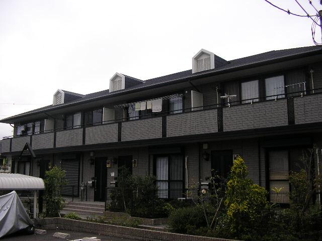 大阪府堺市中区、白鷺駅徒歩28分の築17年 2階建の賃貸アパート