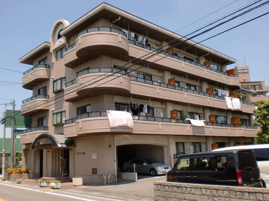 大阪府堺市中区、初芝駅徒歩45分の築25年 4階建の賃貸マンション