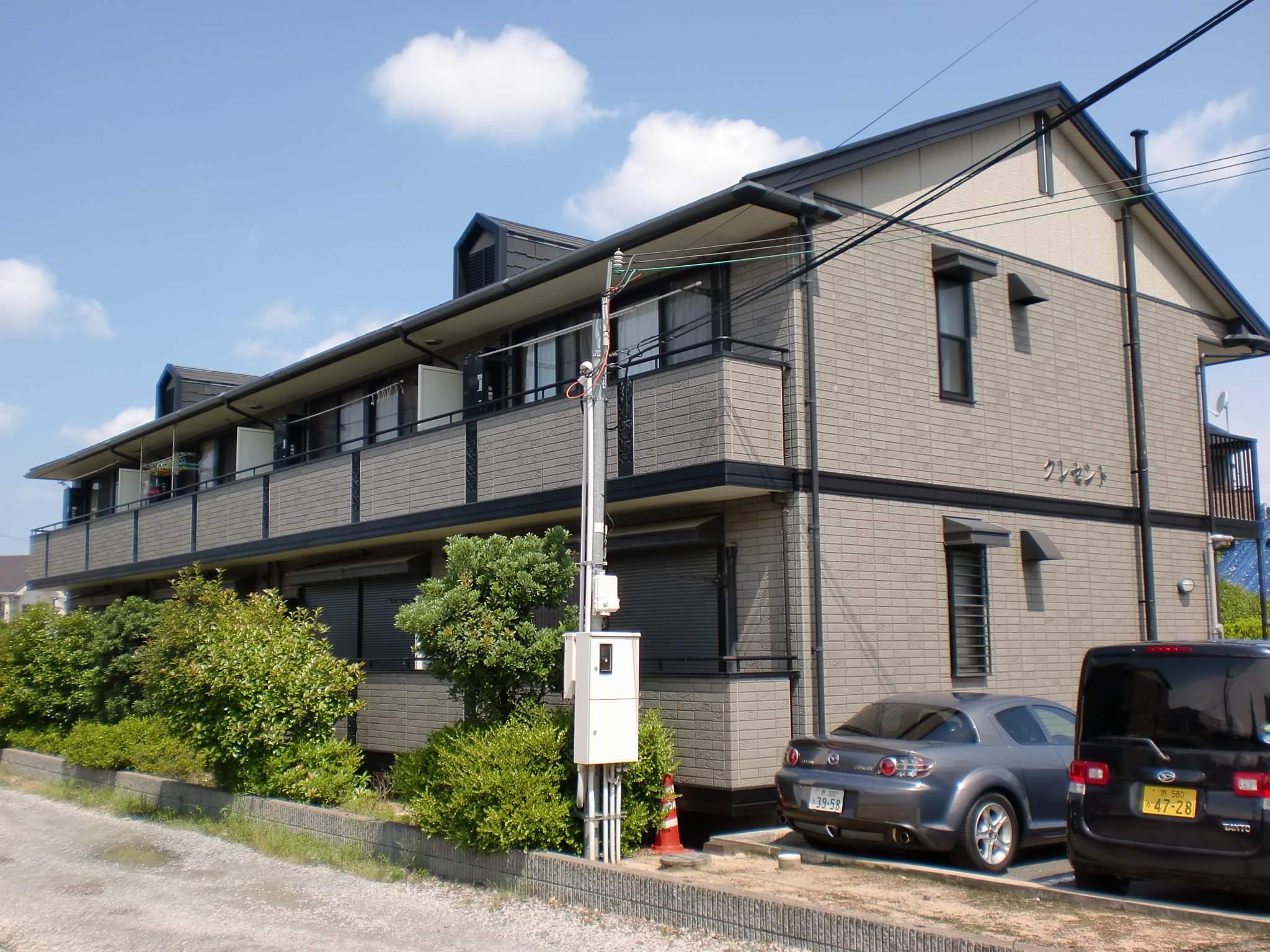 大阪府堺市中区、中百舌鳥駅徒歩27分の築15年 2階建の賃貸アパート