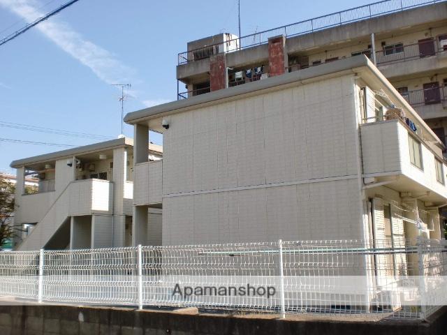 大阪府堺市中区、白鷺駅徒歩23分の築22年 2階建の賃貸アパート