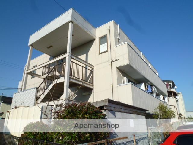 大阪府大阪狭山市、北野田駅徒歩22分の築23年 3階建の賃貸マンション