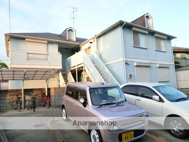 大阪府富田林市、川西駅徒歩32分の築25年 2階建の賃貸アパート