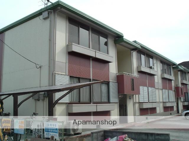 大阪府河内長野市、河内長野駅徒歩10分の築29年 2階建の賃貸アパート