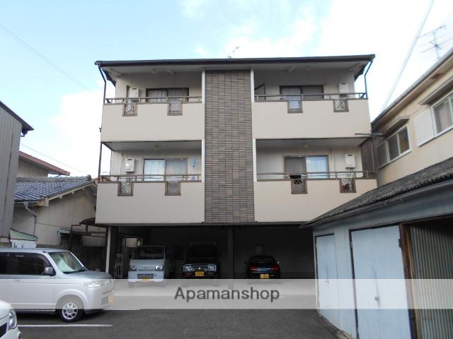 大阪府堺市美原区、初芝駅徒歩21分の築23年 3階建の賃貸マンション