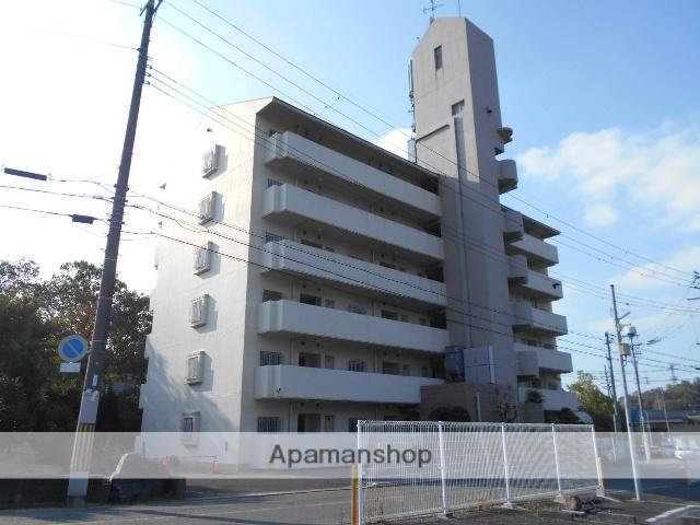 大阪府富田林市、狭山駅徒歩33分の築28年 6階建の賃貸マンション