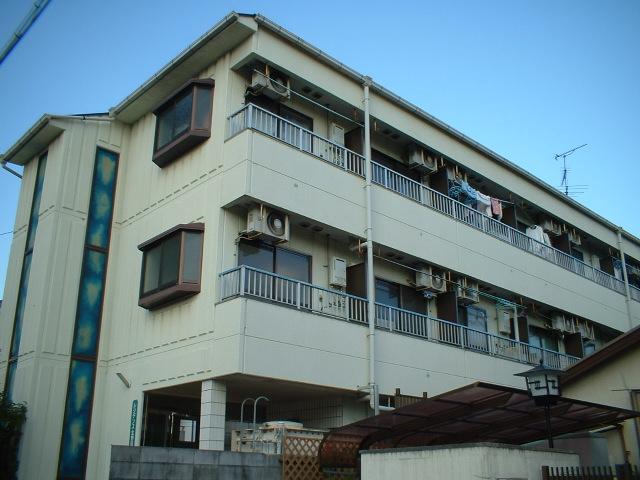 大阪府堺市東区、白鷺駅徒歩7分の築27年 3階建の賃貸マンション