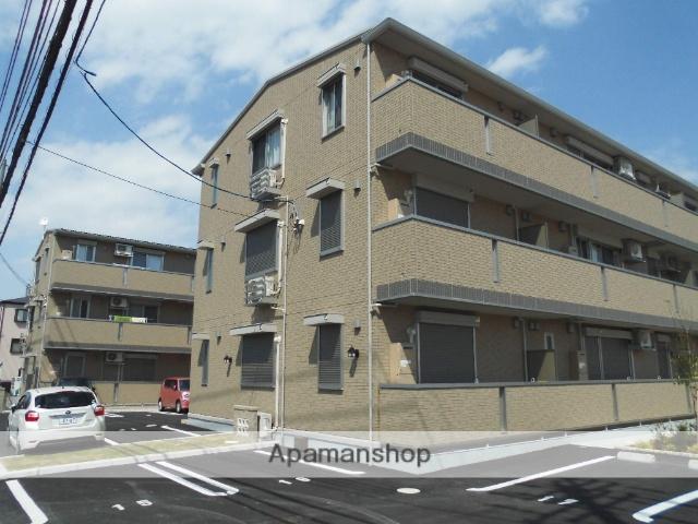 大阪府大阪狭山市、狭山駅徒歩12分の新築 3階建の賃貸アパート