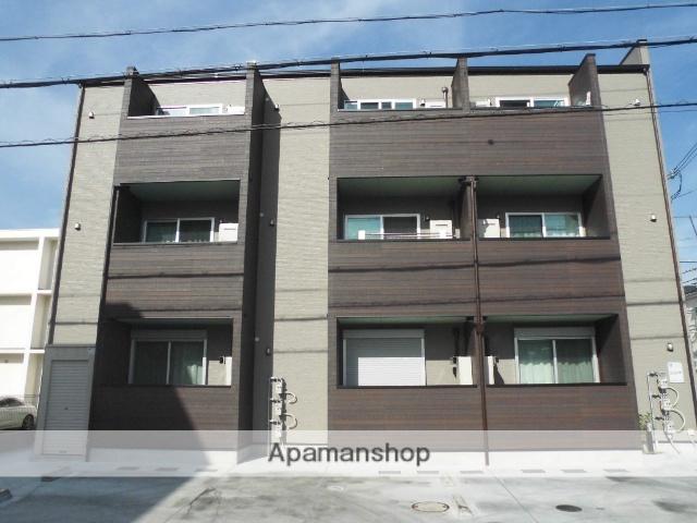 大阪府堺市東区、北野田駅徒歩8分の新築 3階建の賃貸アパート