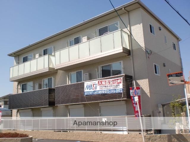 大阪府堺市中区、白鷺駅徒歩41分の築3年 3階建の賃貸アパート