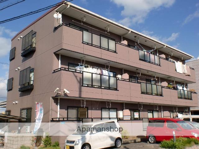 大阪府堺市東区、白鷺駅徒歩17分の築21年 3階建の賃貸マンション