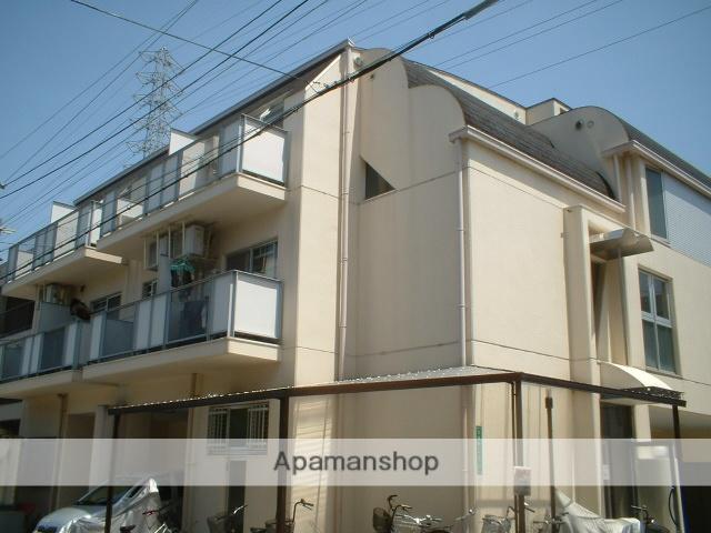 大阪府堺市東区、中百舌鳥駅徒歩16分の築26年 3階建の賃貸マンション