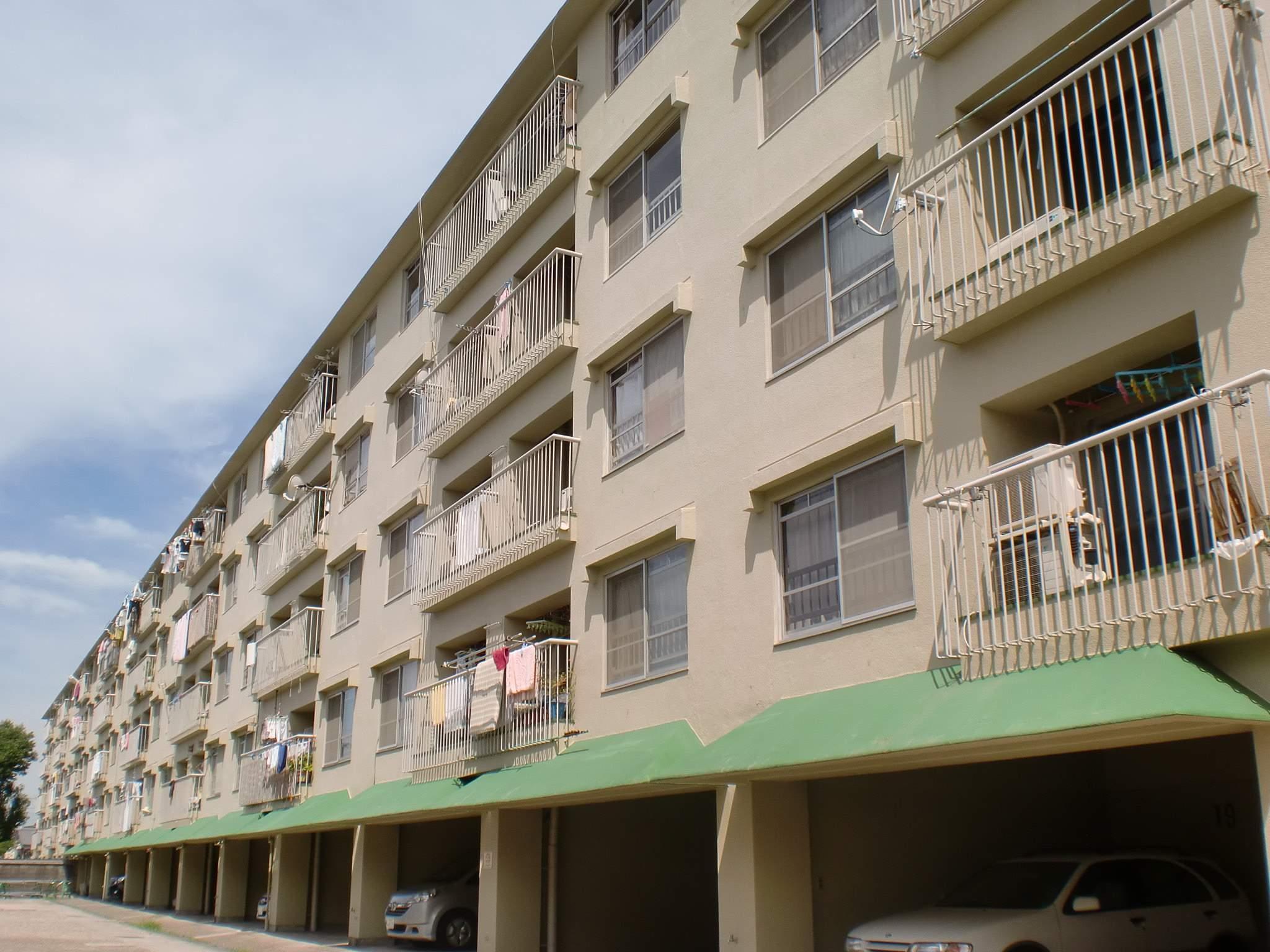 大阪府堺市東区、白鷺駅徒歩17分の築45年 5階建の賃貸マンション