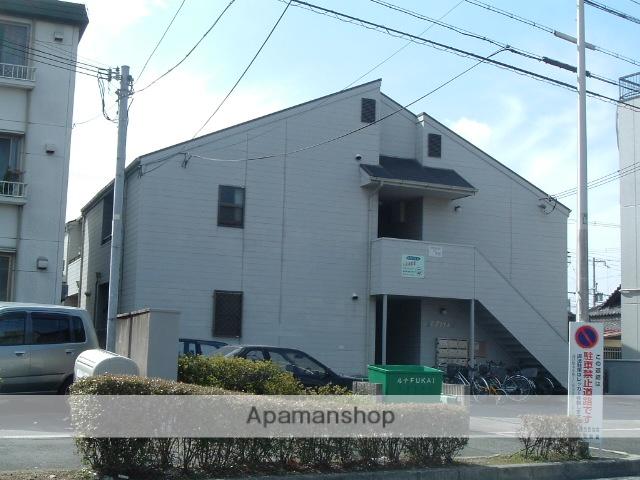 大阪府堺市中区、深井駅徒歩3分の築25年 2階建の賃貸アパート